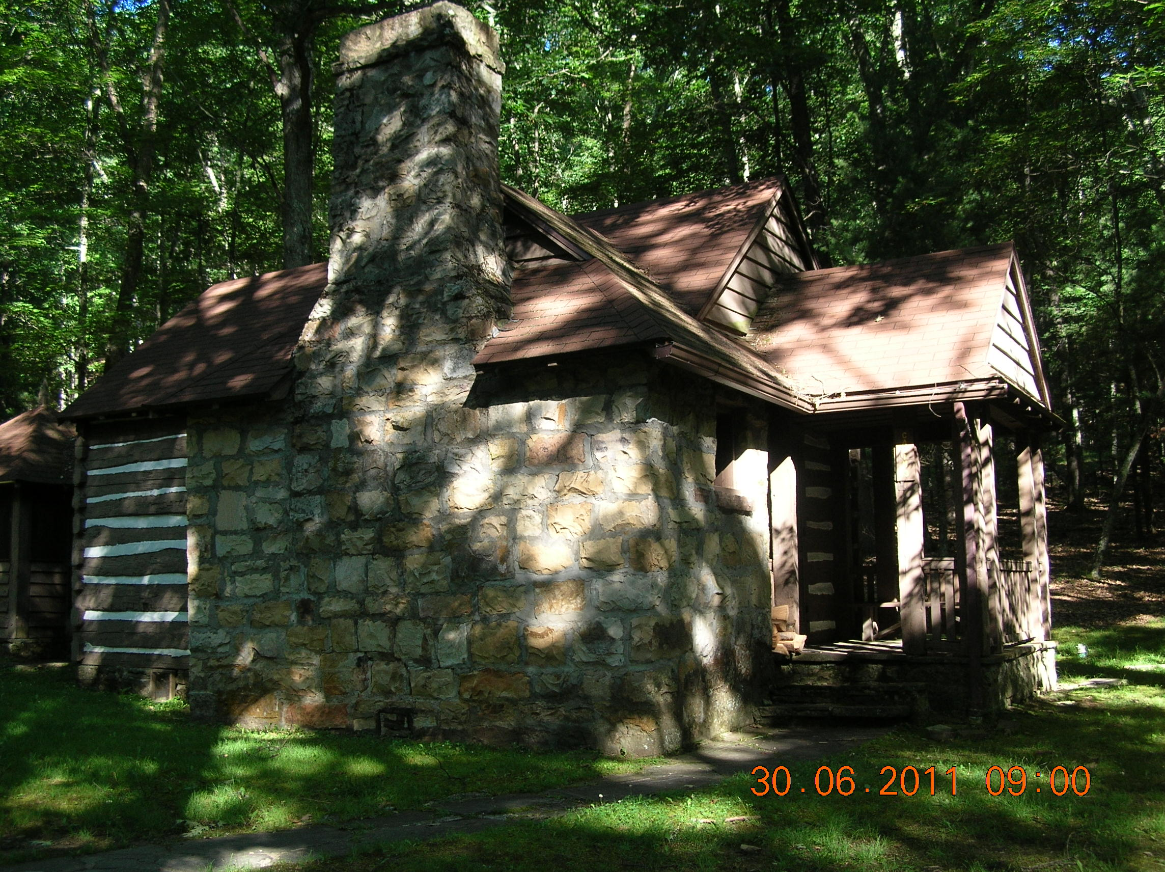 of lee wv lost rain west the in haunting virginia at river cabins cabin family park state